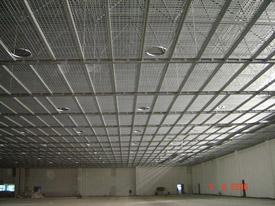 体育馆钢格栅板吊顶