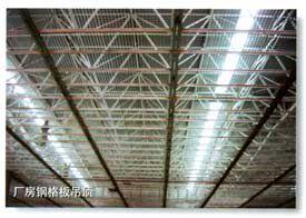 吊顶用钢格栅板