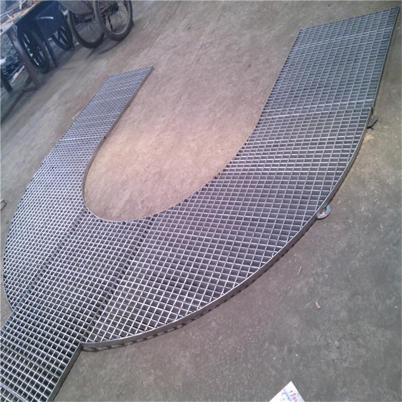 高铁桥梁桥墩支架平台钢格栅板
